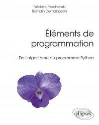 Dernières parutions dans Références sciences, Eléments de programmation