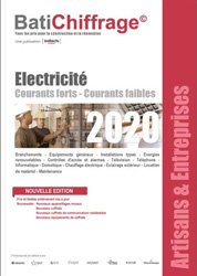 Dernières parutions sur Etudes de prix - Devis, Electricité 2020