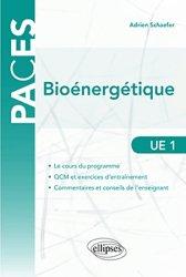 Dernières parutions sur UE 1, Éléments de bioénergétique organismique et tissulaire