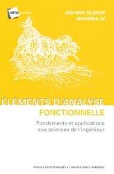 Dernières parutions dans Métis Lyon Tech , Éléments d'analyse fonctionnelle