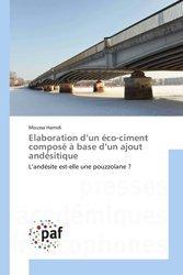 Dernières parutions sur Géotechnique, Elaboration d'un éco-ciment composé à base d'un ajout andésitique