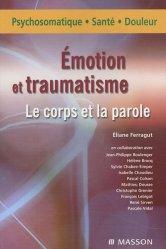 Dernières parutions sur Douleur, Émotion et traumatisme