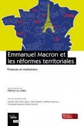 Dernières parutions sur Collectivités locales, Emmanuel Macron et les réformes territoriales