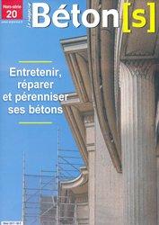 Dernières parutions sur BTP - Art - Architecture, Entretenir, réparer et pérenniser ses bétons