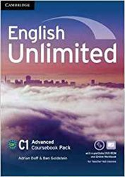 Dernières parutions dans English Unlimited, English Unlimited, Advanced - Coursebook with e-Portfolio and Online Workbook Pack