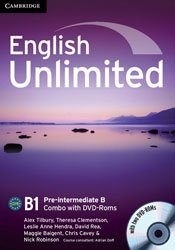 Dernières parutions dans English Unlimited, English Unlimited Pre-intermediate B - Combo with DVD-ROMs (2)