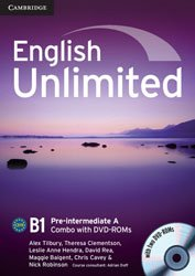 Dernières parutions dans English Unlimited, English Unlimited Pre-intermediate A - Combo with DVD-ROMs (2)