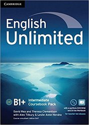 Dernières parutions dans English Unlimited, English Unlimited, Intermediate - Coursebook with e-Portfolio and Online Workbook Pack