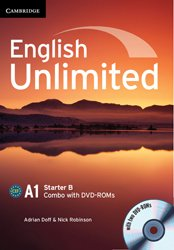 Dernières parutions dans English Unlimited, English Unlimited Starter B - Combo with DVD-ROMs (2)