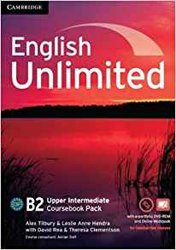 Dernières parutions dans English Unlimited, English Unlimited, Upper Intermediate - Coursebook with e-Portfolio and Online Workbook Pack