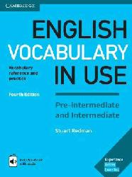Dernières parutions dans English Vocabulary in Use, English Vocabulary in Use Pre-intermediate and Intermediate - Book with Answers and Enhanced eBook