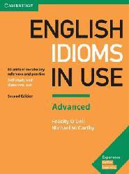 Dernières parutions sur Grammar, Vocabulary and Pronunciation, English Idioms in Use Advanced - Book with Answers
