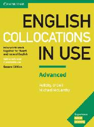 Dernières parutions sur Grammar, Vocabulary and Pronunciation, English Collocations in Use Advanced - Book with Answers