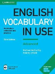 Dernières parutions sur Grammar, Vocabulary and Pronunciation, English Vocabulary in Use Advanced - Book with Answers and Enhanced eBook