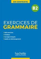 Dernières parutions sur Grammaire-Conjugaison-Orthographe, En Contexte : Exercices de grammaire B2 avec audio MP3  et corrigés