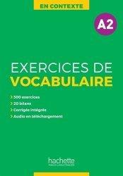 Dernières parutions sur Vocabulaire, En Contexte - Vocabulaire A2