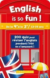 Dernières parutions sur Jeux, English is so fun !