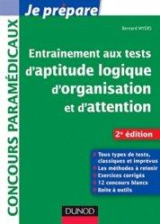 Souvent acheté avec Entraînement intensif aux tests d'aptitude IFSI, le Entrainement aux tests d'aptitude logique, d'organisation et d'attention