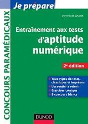 Souvent acheté avec Entrainement aux tests d'aptitude logique, d'organisation et d'attention, le Entrainement aux tests d'aptitude numérique