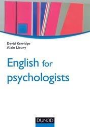 Souvent acheté avec Doc Protocoles Urologie, le English for psychologists