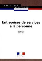 Dernières parutions dans Conventions collectives, Entreprises de services à la personne