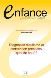 Dernières parutions dans ENFANCE, Enfance 2019, n.71(1)