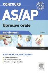 Souvent acheté avec Concours AMP - Épreuves écrite et orale, le Entraînement Concours AS/AP épreuve orale