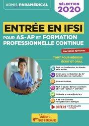 Nouvelle édition Entrée en IFSI pour les AS-AP et la formation professionnelle continue