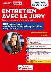 Dernières parutions dans Admis concours de la fonction publique, Entretien avec le jury