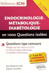 Dernières parutions dans Réussir l'ECN, Endocrinologie-métabolique-diabétologie en 1000 questions isolées