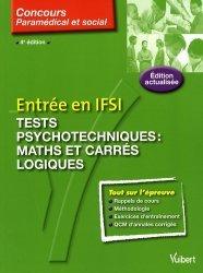 Souvent acheté avec 1000 tests psychotechniques corrigés Tome 2, le Entrée en IFSI