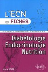 Dernières parutions dans L'ECN en fiches, Endocrinologie - Diabétologie - Nutrition