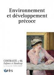 Dernières parutions dans Contraste, Environnement et développement précoce