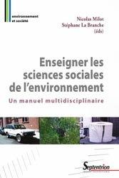 Dernières parutions dans Environnement et société, Enseigner les sciences sociales de l'environnement