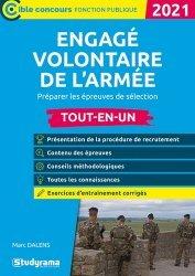 Dernières parutions sur Concours administratifs, Engagé volontaure de l'armée