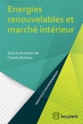 Dernières parutions dans Droit(s) et développement durable, Energies renouvelables et marché intérieur