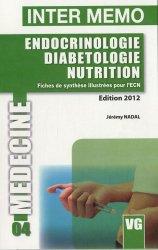 Souvent acheté avec Examens complémentaires, le Endocrinologie - Diabétologie - Nutrition