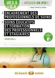 Dernières parutions dans Réussir en IFSI, Encadrement des professionnels de soins UE 3.5 et 5.4