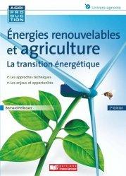 Nouvelle édition Énergies renouvelables et agriculture