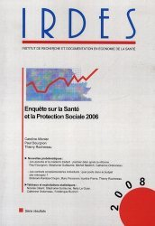 Dernières parutions dans Biblio, Enquête sur la santé et la protection sociale 2006 https://fr.calameo.com/read/005884018512581343cc0