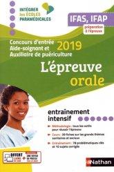 Dernières parutions sur Epreuve orale, Épreuve orale 2019  AS/AP - Préparation à l'épreuve