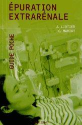 Dernières parutions dans Guide poche, Épuration extrarénale