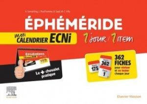 Souvent acheté avec L'ABCdaire médical pour les ECNi, le Ephéméride : mon calendrier ECNi