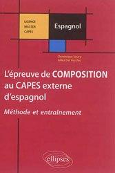 Dernières parutions sur CAPES, Epreuve Composition Capes Externe