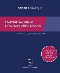 Dernières parutions sur Droit du travail et de l'emploi, Epargne salariale