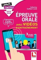 Dernières parutions dans Lamarre concours, Epreuve orale avec vidéos d'entraînement