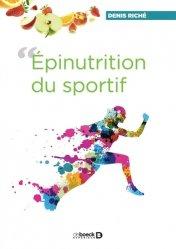 Souvent acheté avec Pathologie orthopédique en pédiatrie, le Épinutrition du sportif