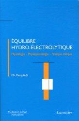 Souvent acheté avec Scanner Pratique, le Équilibre Hydro-Électrolytique