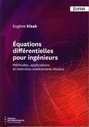 Dernières parutions sur Calcul différentiel, Équations différentielles pour ingénieurs