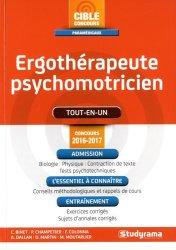 Nouvelle édition Ergothérapeute psychomotricien - Concours 2016-2017